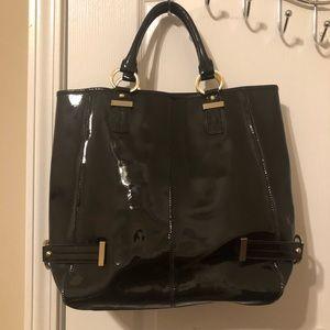NORDSTROM Patent Tote Bag